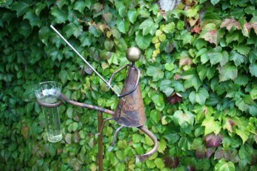 Regenmesser aus Kupfer