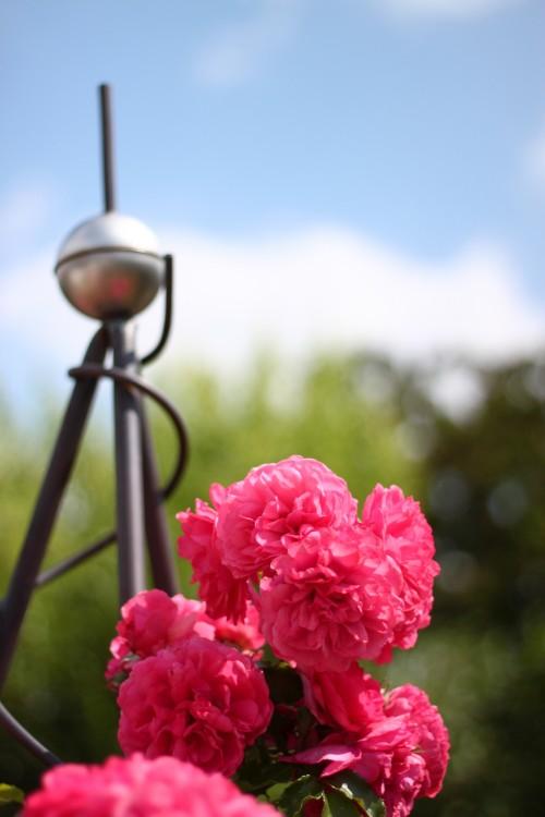 Rosenbogen aus Kupfer