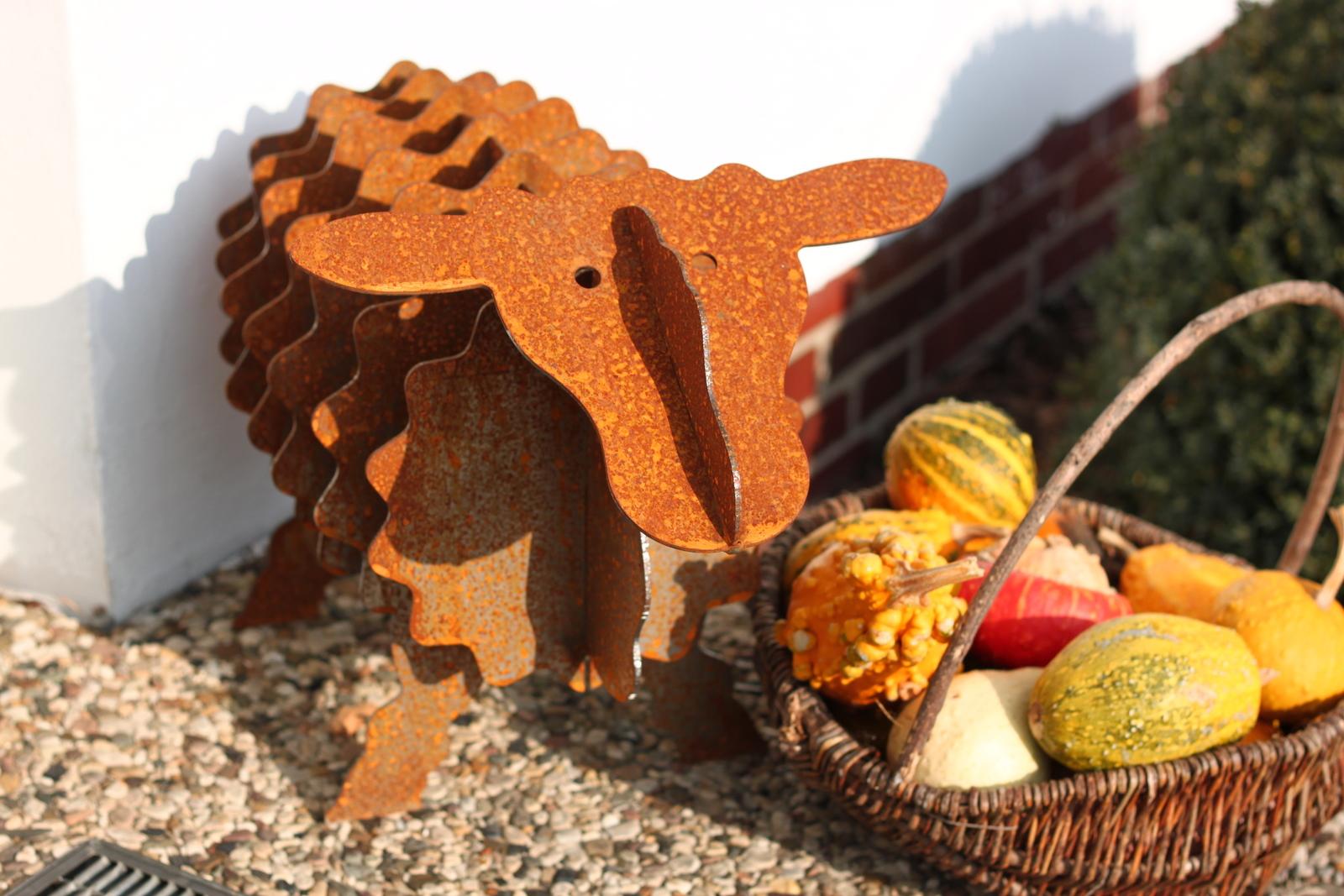 Fotos gartenskulptur schaf mit edelrost for Garten edelrost